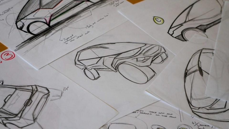 Project Arrow zero-emissions concept car competition