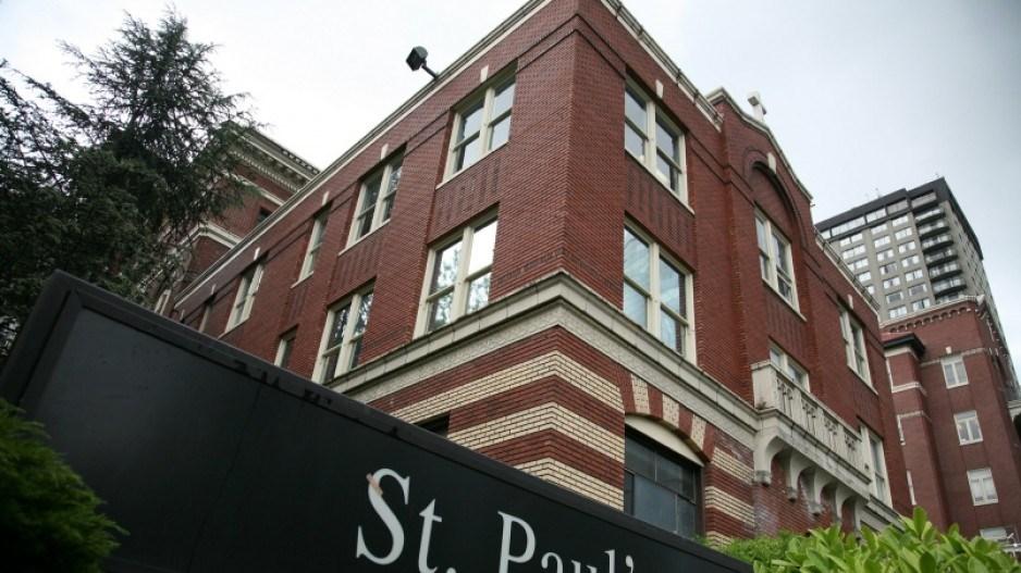 St. Paul's Hospital on Burrard Street