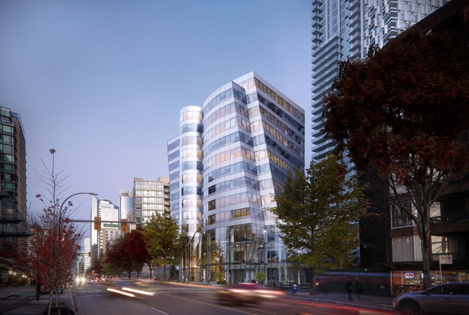 Reliance Properties Burrard Place office tower