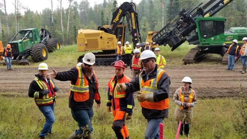 Workers celebrate restart of Trans Mountain
