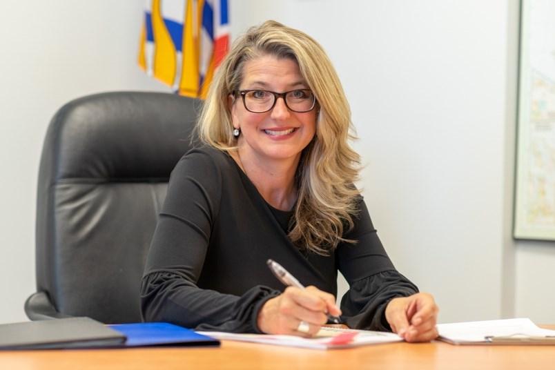 Lana Popham, Minister of Agriculture.
