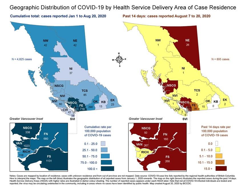 50 New Covid 19 Cases In North Shore Health Region North Shore News