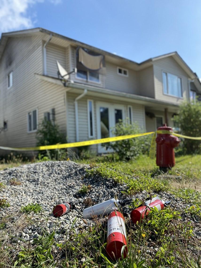 arson 331 Kawtin Road West Vancouver