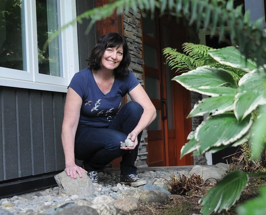 Lori Daniels rock garden