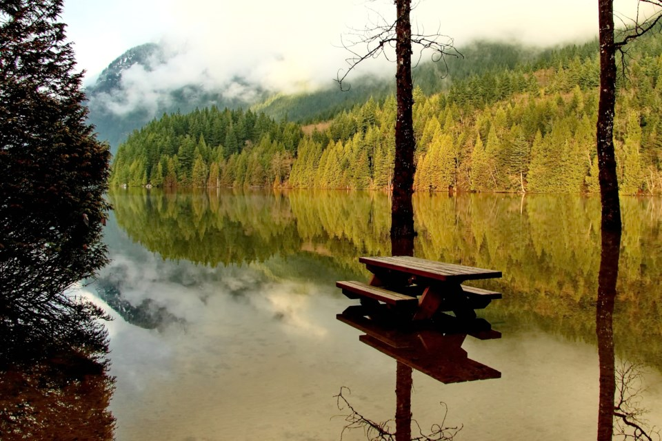 Flooding at Buntzen Lake. Flood risks across the Tri-Cities are expected to grow as climate change l