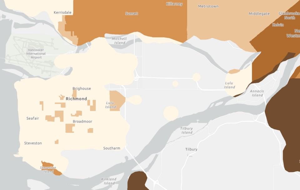 Richmond wildfire smoke vulnerability