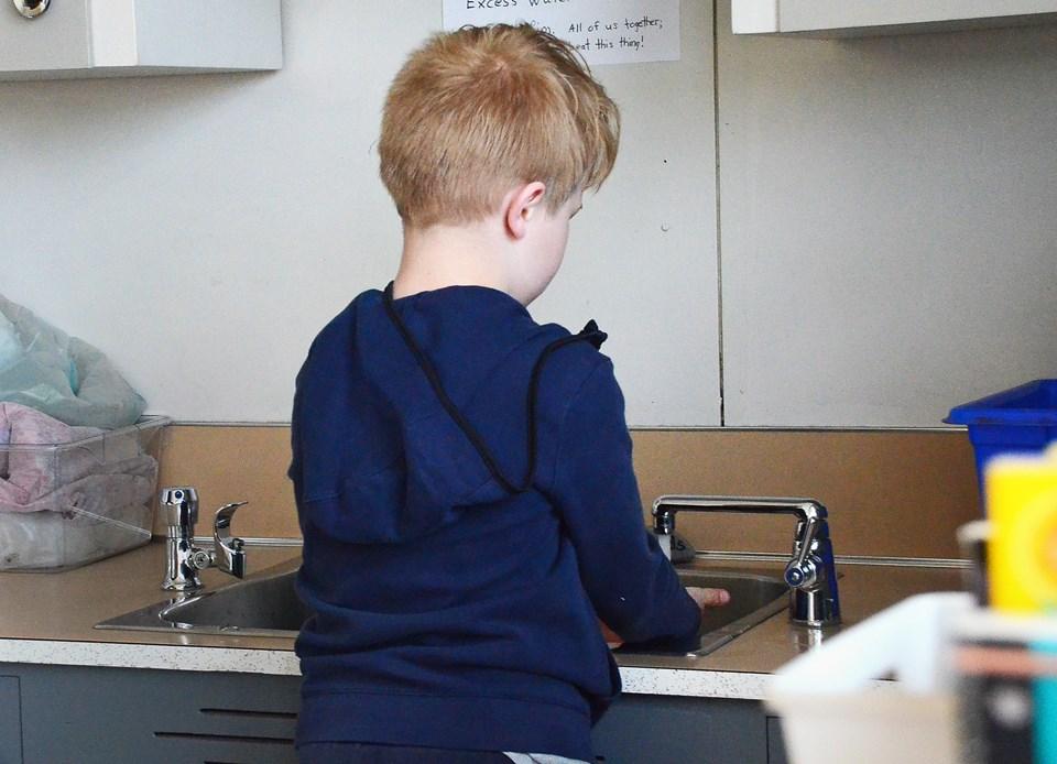 Sperling elementary, handwashing