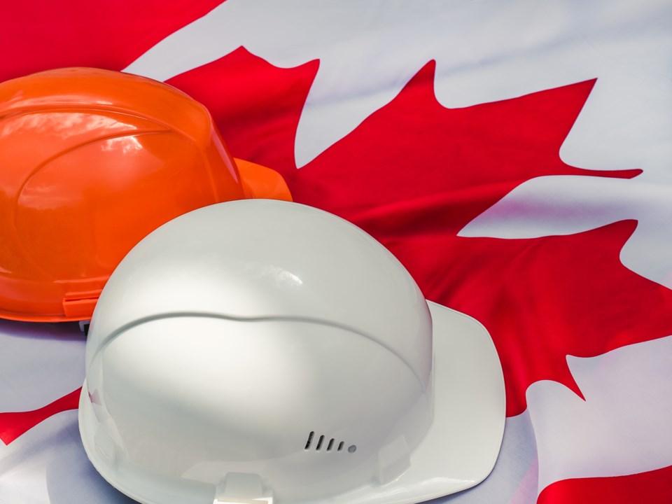 labour Day, Canada, stock photo