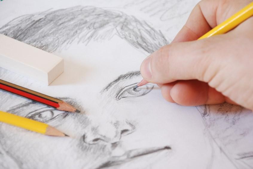 sketch, portrait