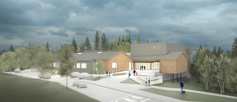 Bowen Island Community Centre conceptual plan