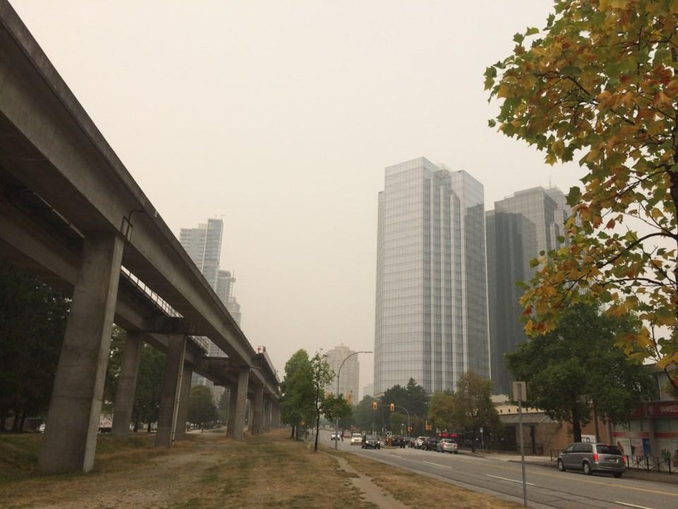 air quality, Burnaby