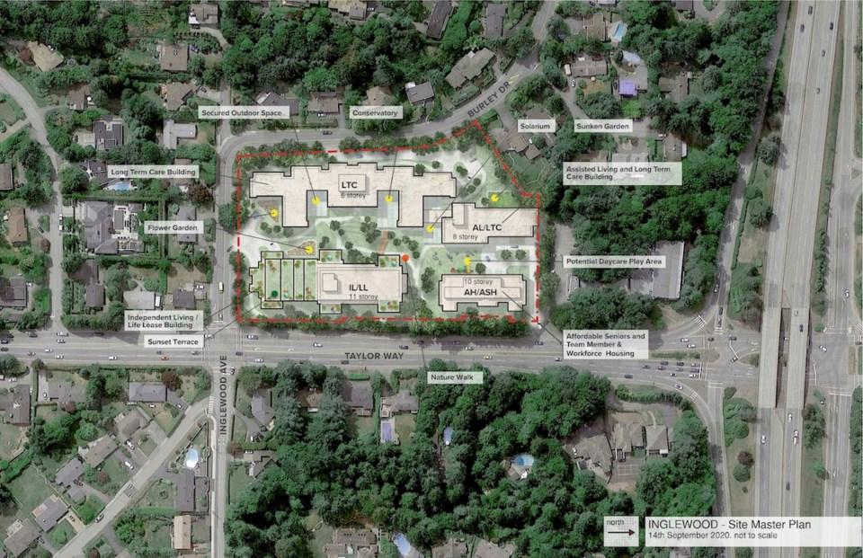 Inglewood redevelopment revised site plan