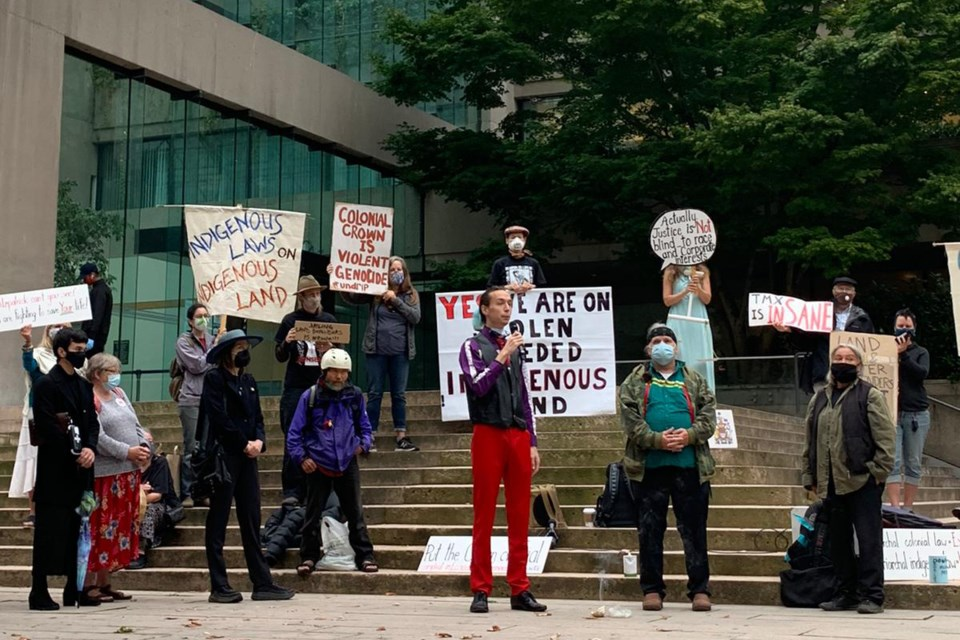 tmx court protest