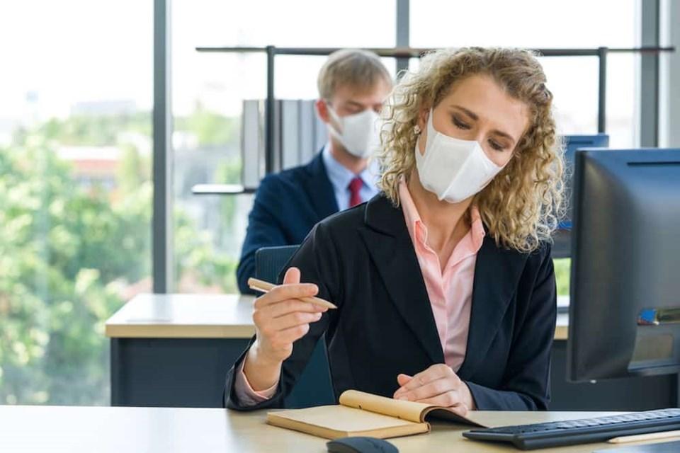 Face masks at work