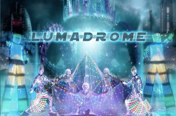 A live LED cirque performance called Lumadrome among the offerings