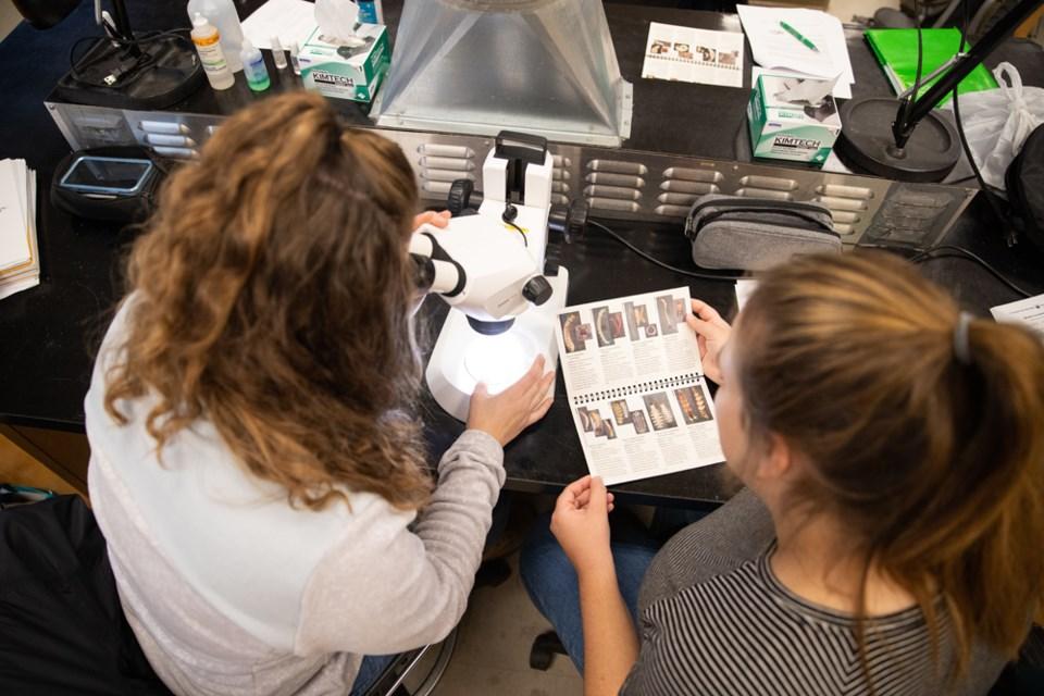 TRU women science