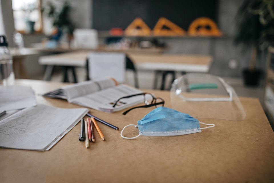 schools, education, classroom, COVID-19, s otck photo