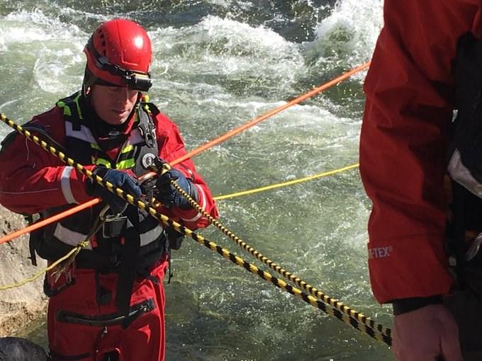 Cap River rope rescue