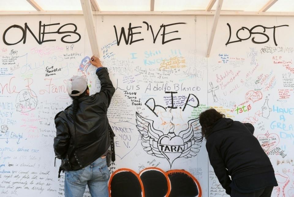 opioid death memorial