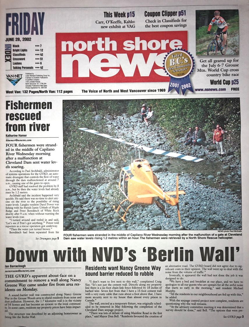 FROM THE ARCHIVES: That time in 2002 when a malfunction at Cleveland Dam sent water levels soaring_1