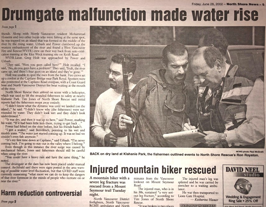 FROM THE ARCHIVES: That time in 2002 when a malfunction at Cleveland Dam sent water levels soaring_2