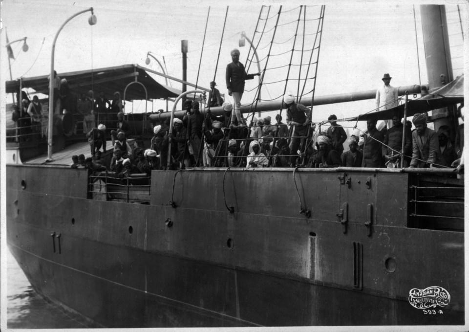 Komagata Maru, historical photos, VPL