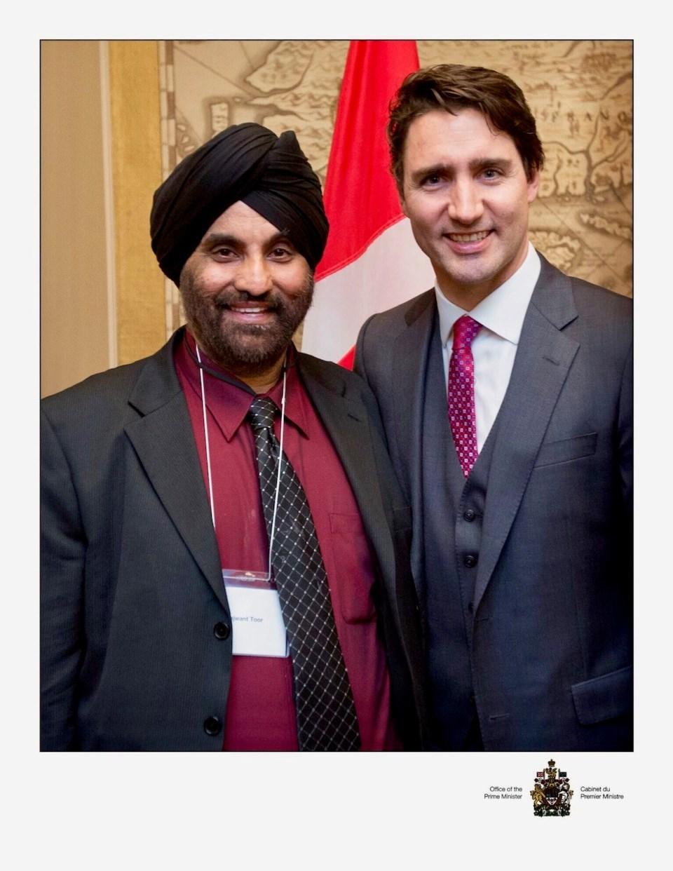 Raj Singh Toor, Justin Trudeau, Komagata Maru apology