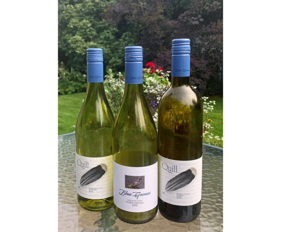 Cowichan Valley Blue Grouse wines