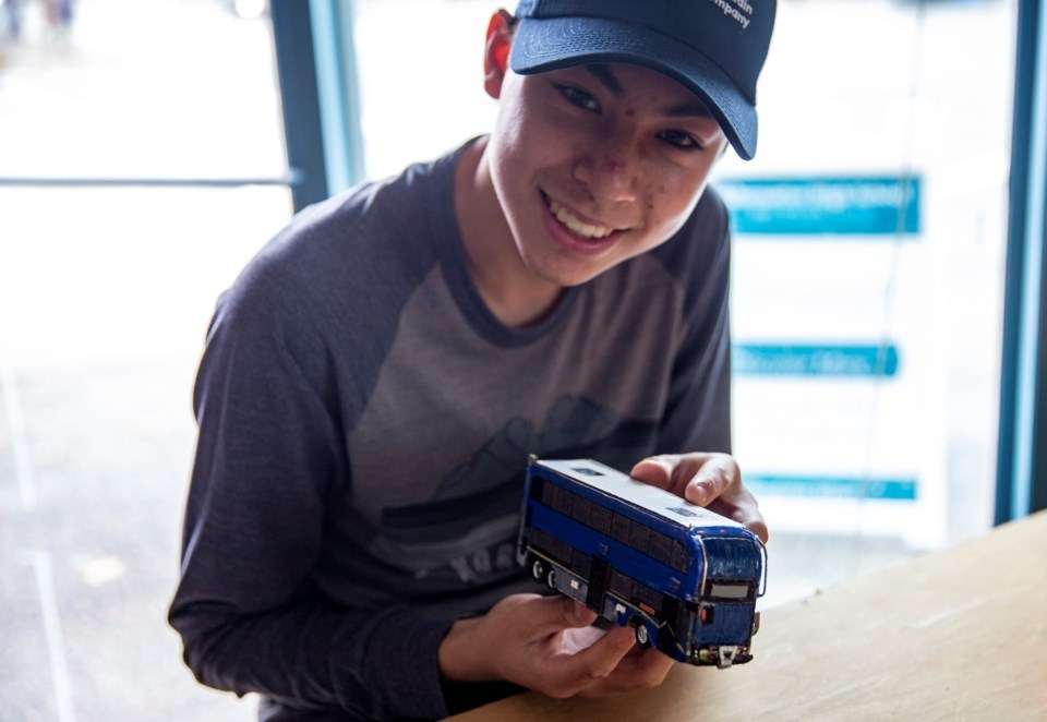 'It's my calling': Port Coquitlam teen with autism builds BC Ferries, TransLink fleets from scratch_3