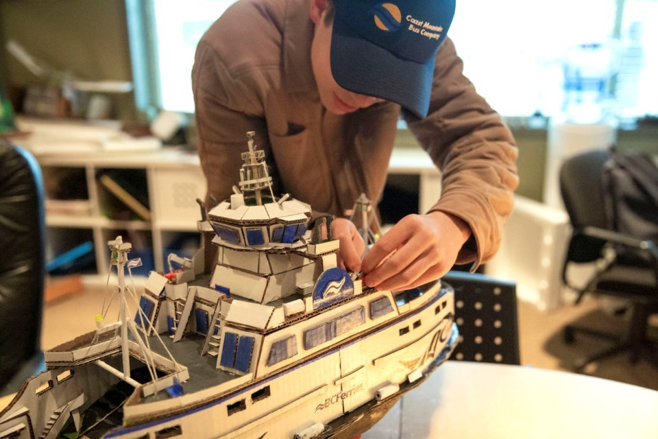 'It's my calling': Port Coquitlam teen with autism builds BC Ferries, TransLink fleets from scratch_4