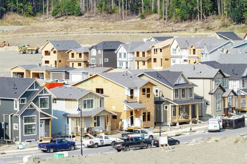 Rapid new home construction at Royal Bay, Colwood.   Darren Stone, Times Colonist