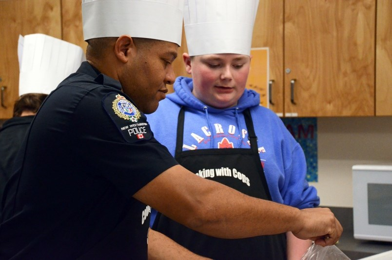 Cooking With Cops, police liaison
