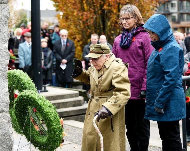 New Westminster Remembrance Day 2017