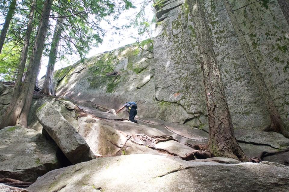 The Stawamus Chief Trail.