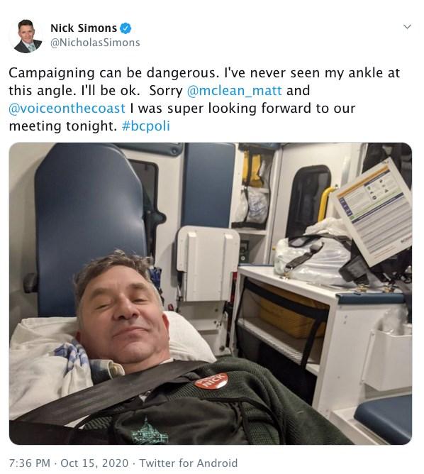 Simons Tweet