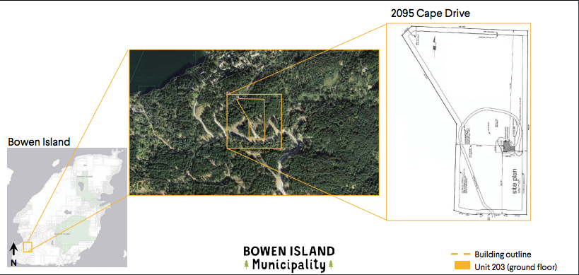 Map showing where at the Cape the IDLC property would be