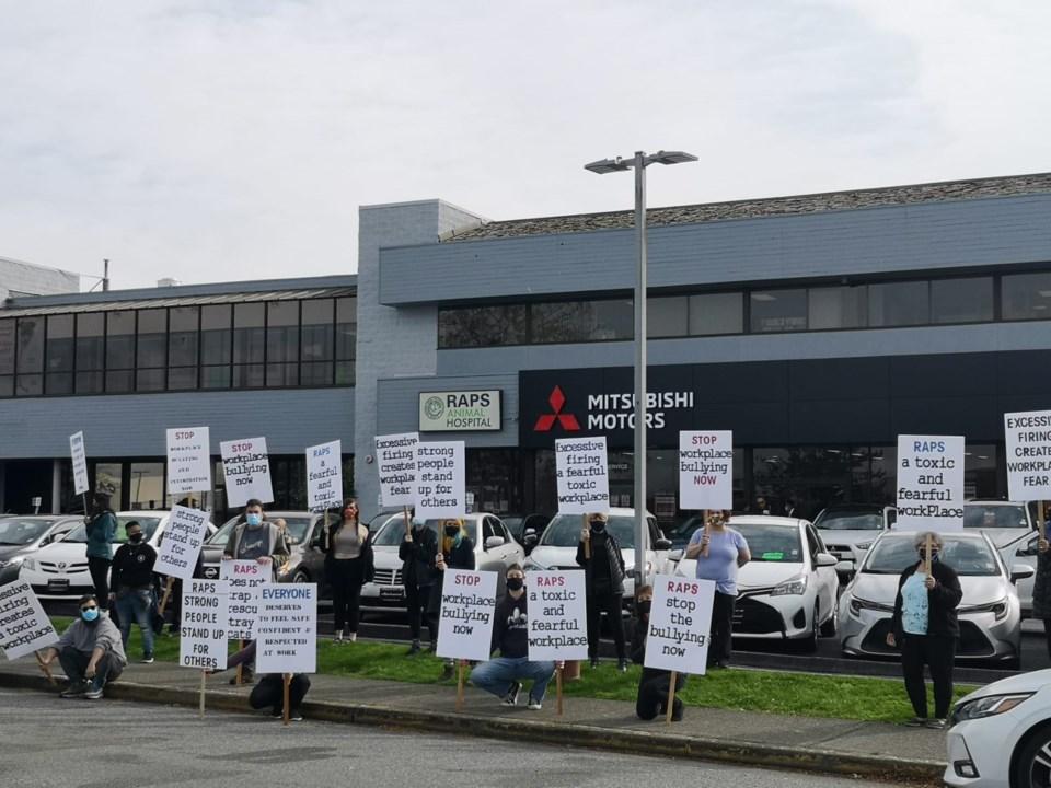 RAPS protest
