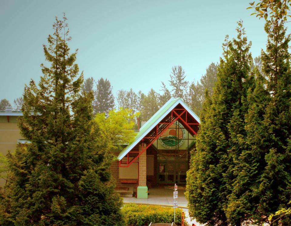 Summit middle school in Coquitlam