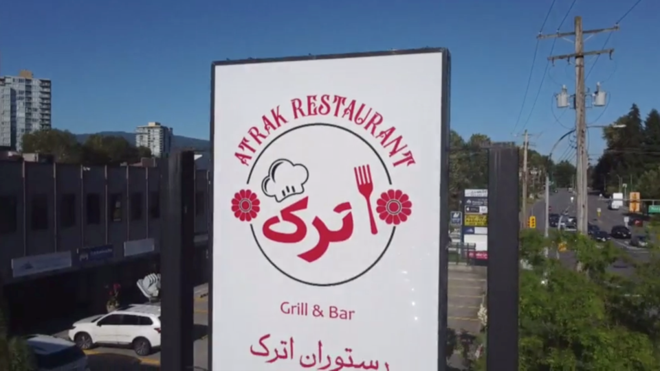 Atrak Restaurant is the second potential public exposure to have occurred at a Port Moody restaurant