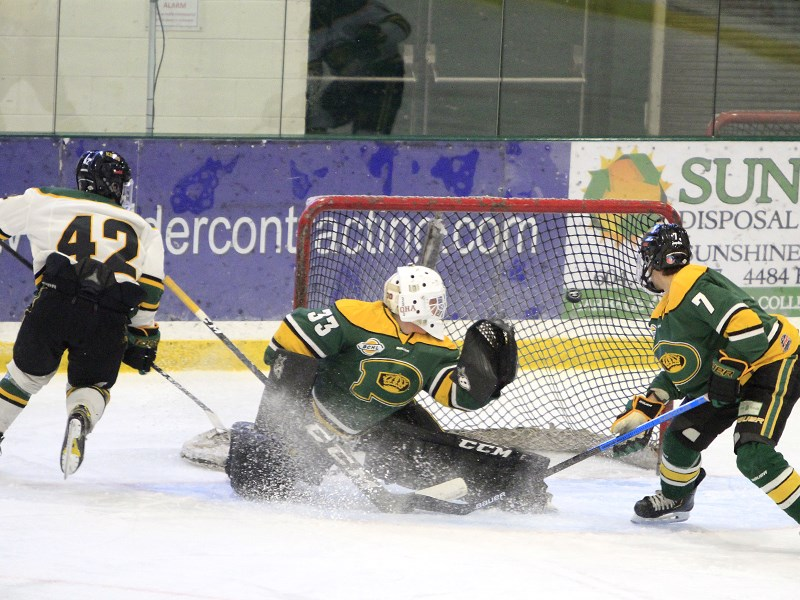 Powell River Kings intrasquad game