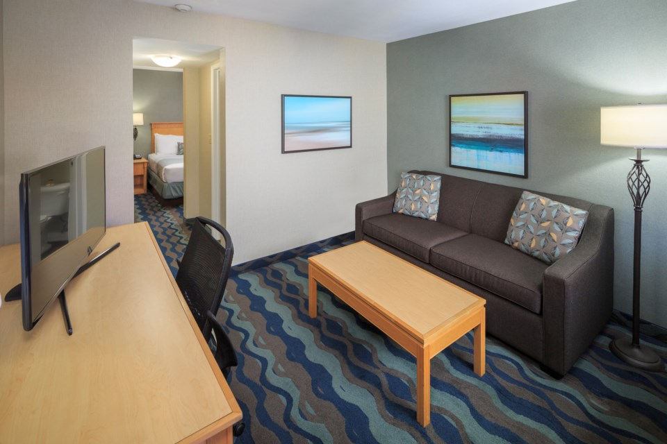 Richmond-based Accent Inns Vancouver Airport is offering blocks of rooms as office space in Richmond and Burnaby. Photo submitted