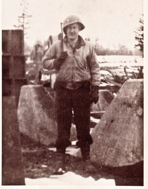 Edward Wachtman in the Second World War