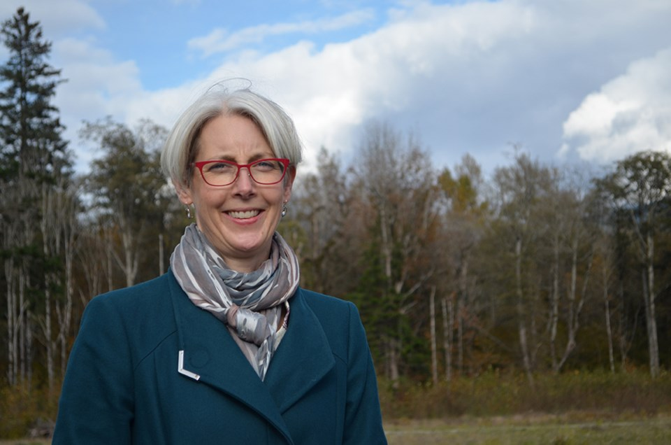 Mayor Karen Elliott.