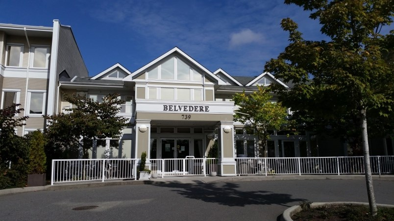 Belvedere Care Centre at 739 Alderson Ave. in Coquitlam is now one of two active seniors home outbreaks in the Tri-Cities