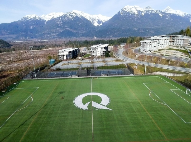Quest University campus and area.