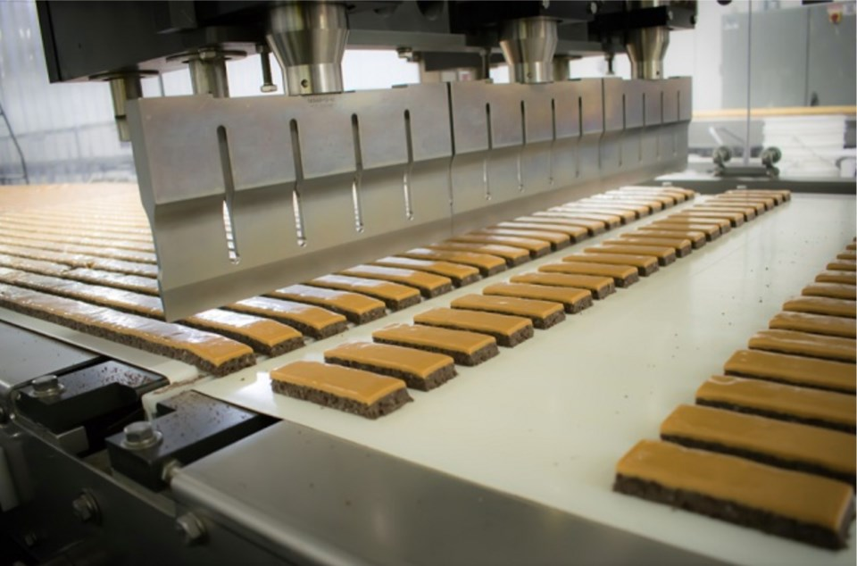 The Port Coquitlam company produces a variety of energy bars