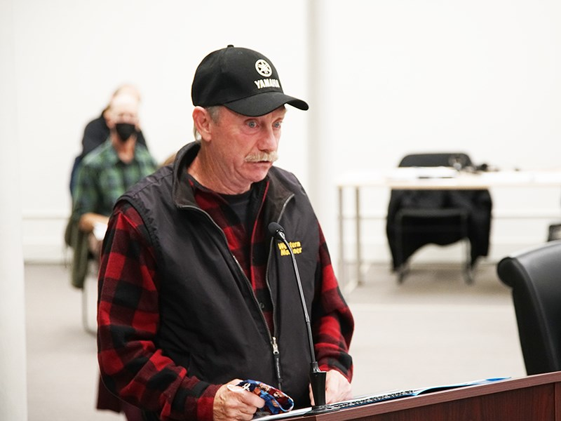 Powell River resident Jim Parsons