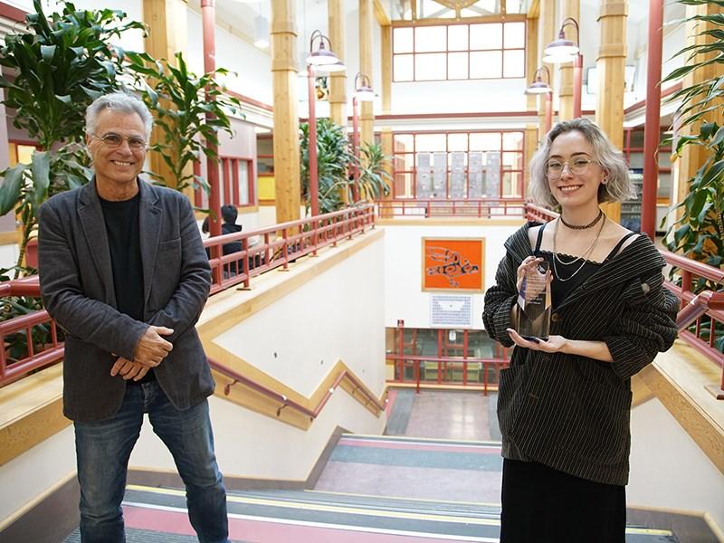 Powell River Digital Film School instructor and mentor Tony Papa