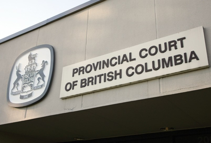 Sign of Provincial Court of B.C.