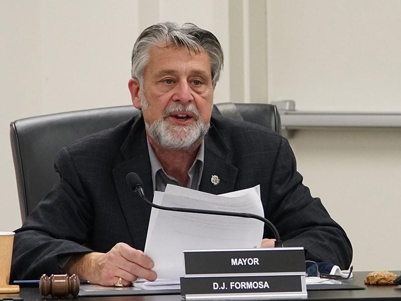 Mayor Dave Formosa Powell River